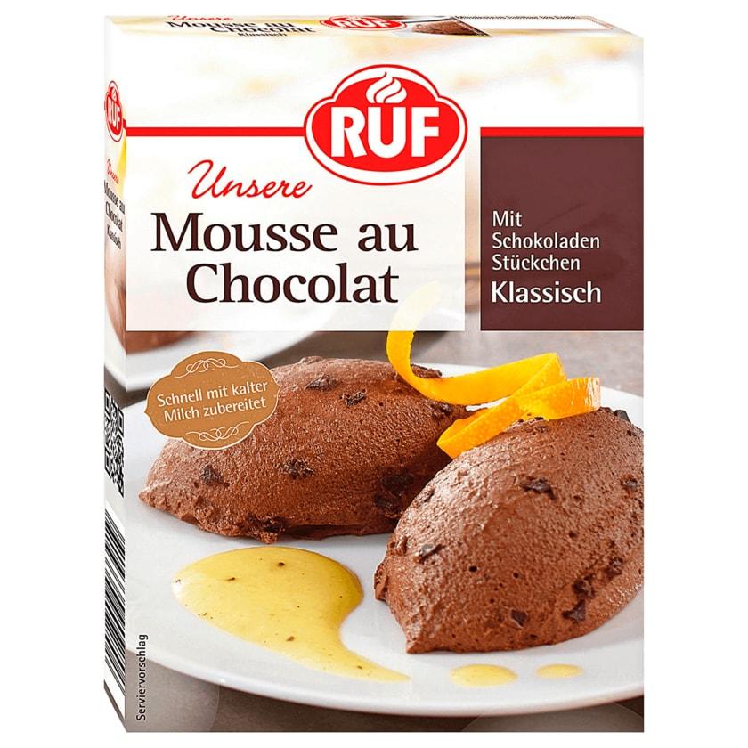 Ruf Mousse au Chocolat 100g