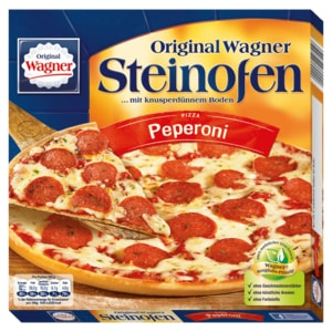 Original Wagner Steinofen Pizza Peperoni 320g