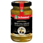 Schamel Gravadine Senf-Dill-Sauce mit Meerrettich & Honig 140ml