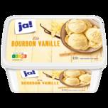 ja! Bourbon-Vanille-Eis 2,5l