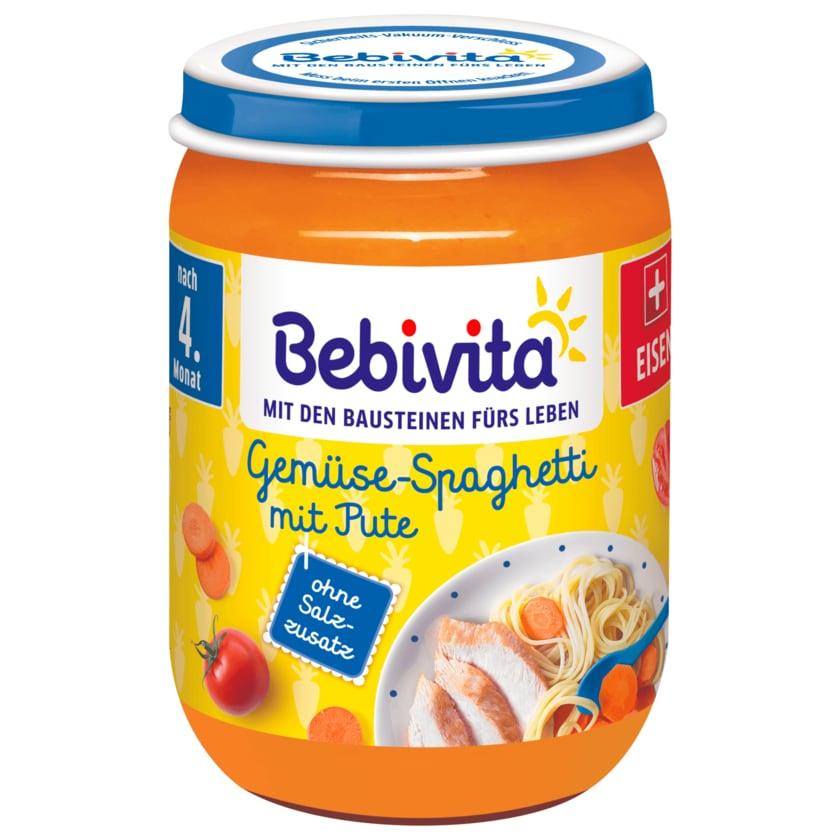 Bebivita Gemüse-Spaghetti mit Pute 190g