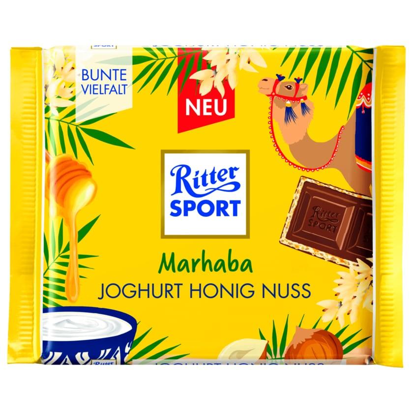 Ritter Sport Schokolade Joghurt Honig Nuss 100g