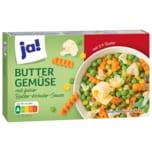 ja! Buttergemüse mit feiner Butter-Kräuter-Sauce 300g