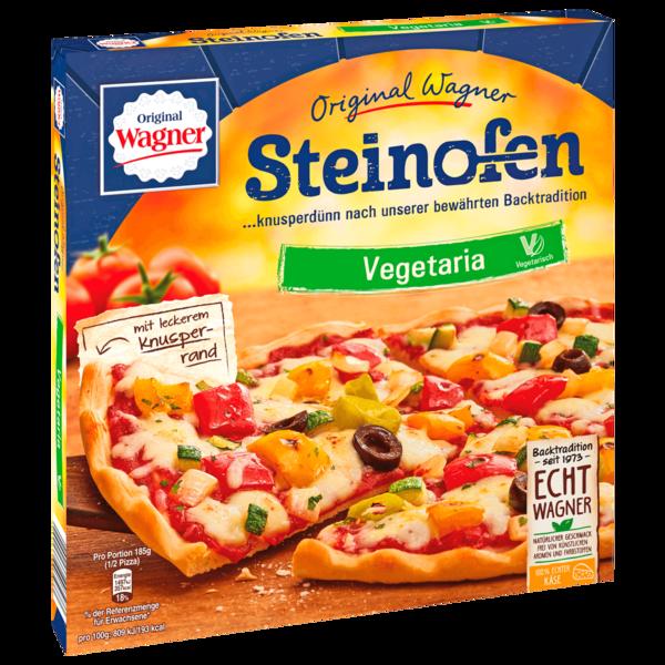 Original Wagner Steinofen Pizza Vegetaria Grillgemüse vegetarisch tiefgefroren 370g