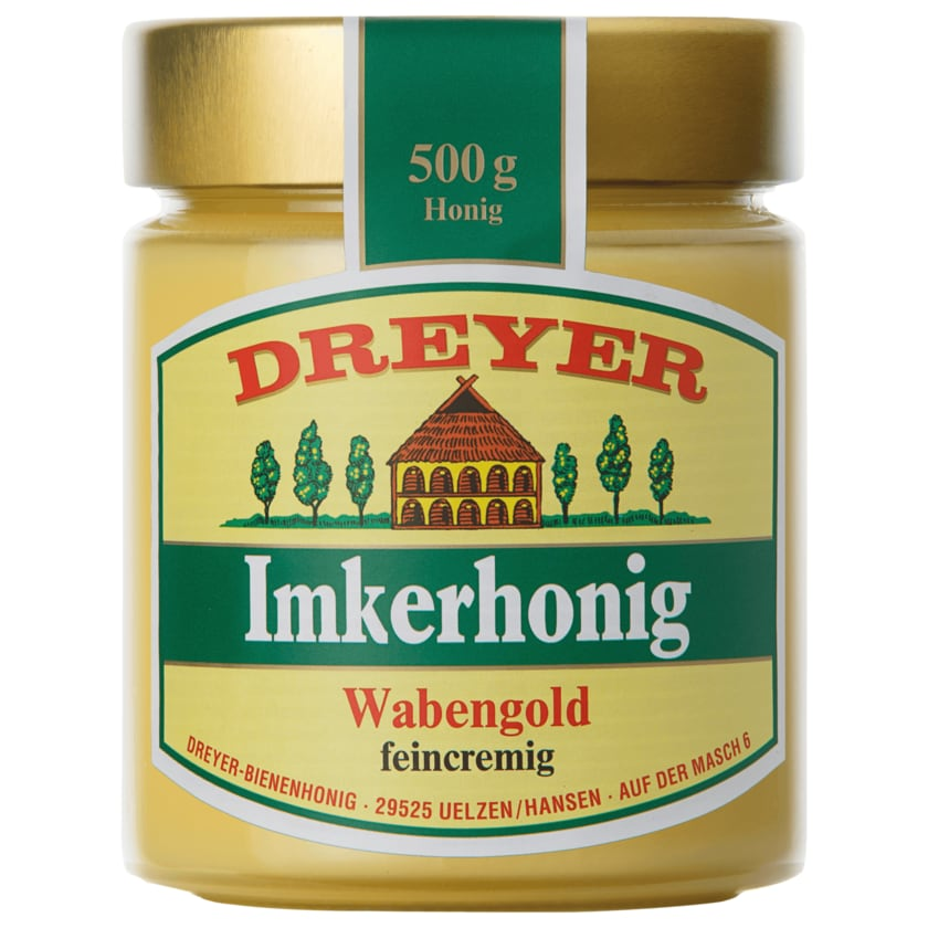 Dreyer Imkerhonig Wabengold 500g