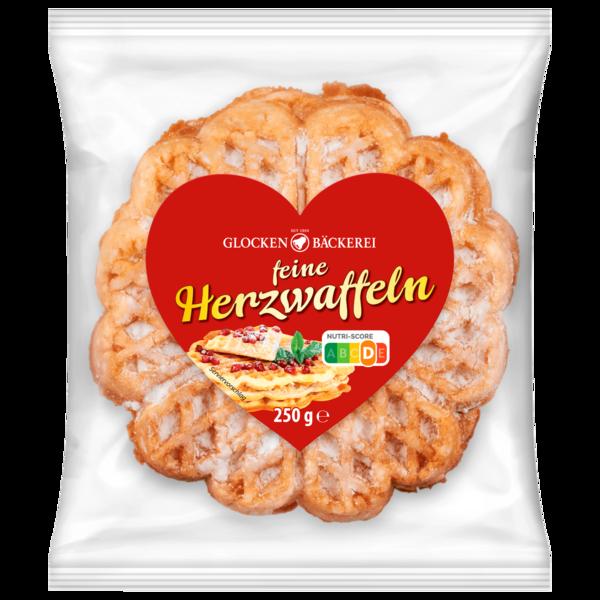 Glocken Bäckerei Herzwaffeln 250g