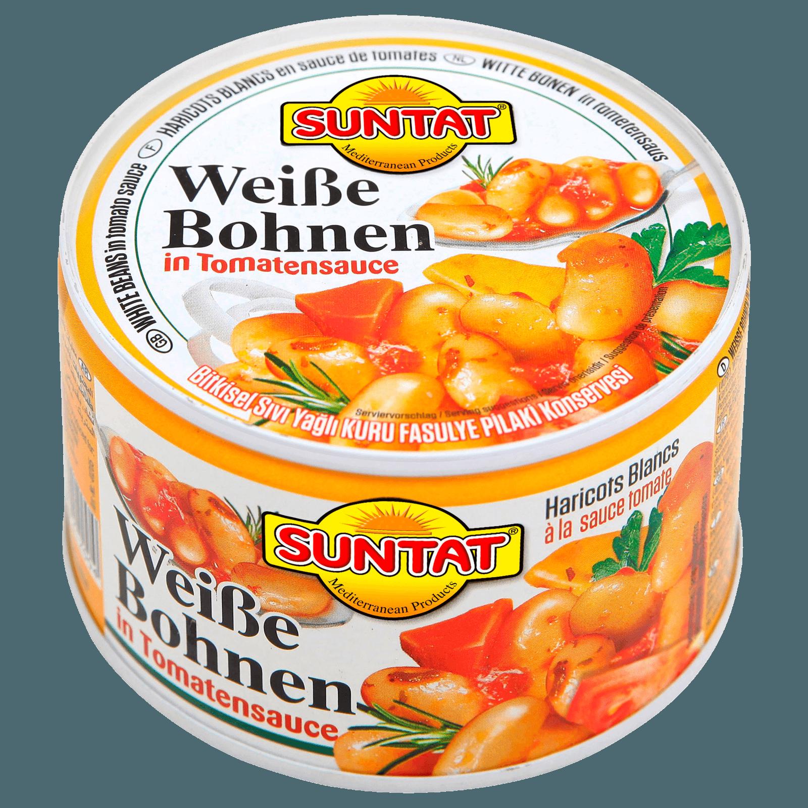 Suntat Weiße Bohnen in Tomatensoße 400g