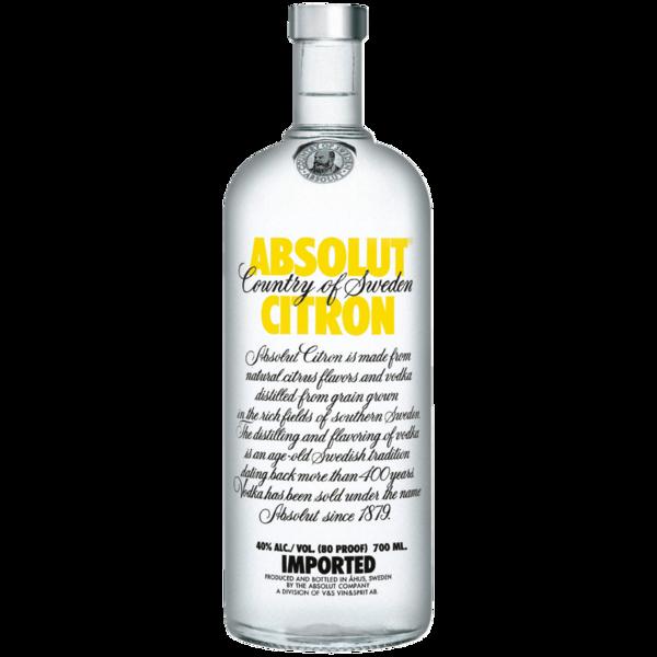 Absolut Vodka Citron 0,7l