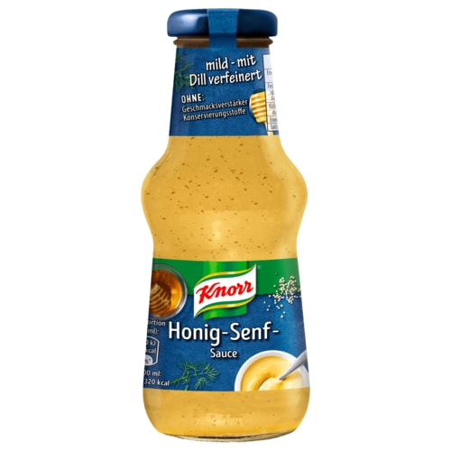 knorr honig senf dill sauce 250ml bei rewe online bestellen. Black Bedroom Furniture Sets. Home Design Ideas