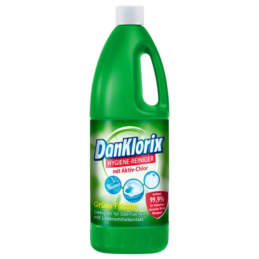 DanKlorix Grüne Frische Hygienereiniger mit Chlor 1,5l