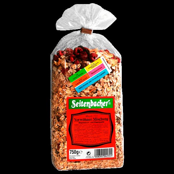 Seitenbacher Müsli Verwöhner-Mischung 750g