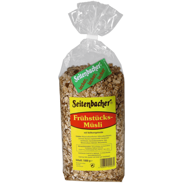 Seitenbacher Frühstücks-Müsli Vorratspack 1kg