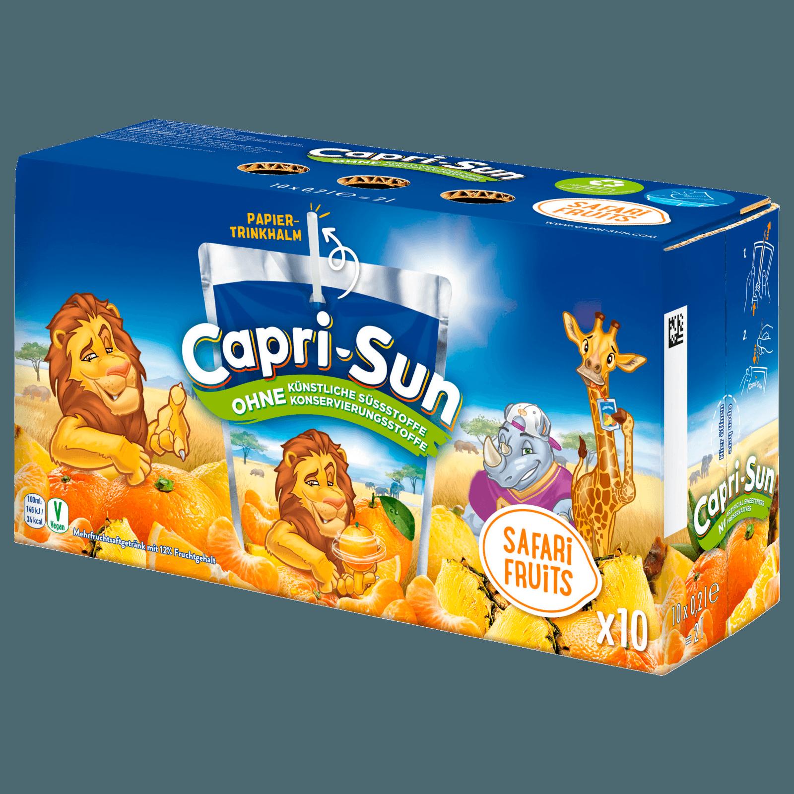 Capri Sun Safari Früchte Multipack 20x20ml bei REWE online bestellen