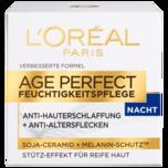 L'Oréal Paris Age Perfect mit Soja-Substanz stärkende Nachtcreme 50ml