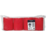 Vivere Grablichter rot 4 Stück