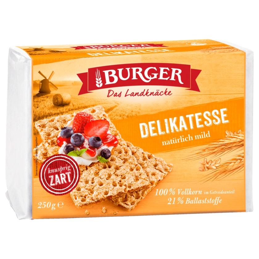 Burger Knäckebrot Delikatess 250g
