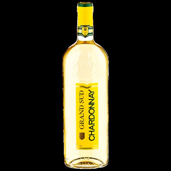 Grand Sud Weißwein Chardonnay trocken 1l