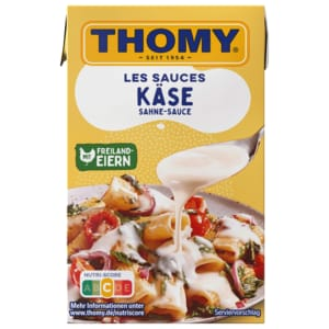 Thomy Les Sauces Käse Sahne Sauce 250ml