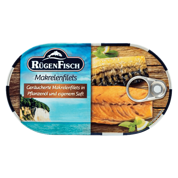 Rügenfisch Makrelenfilets 200g