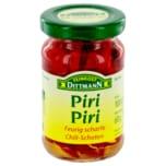 Feinkost Dittmann Piri Piri feurig-scharfe Chilischoten 60g