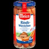 Meica Rindswürstchen extra zart 180g, 6 Stück