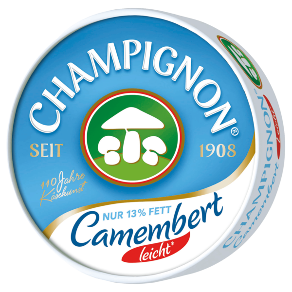 k serei champignon camembert leicht 125g bei rewe online bestellen. Black Bedroom Furniture Sets. Home Design Ideas