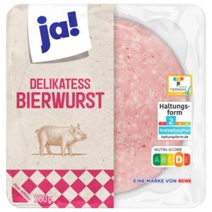 ja! Delikatess-Bierwurst 200g