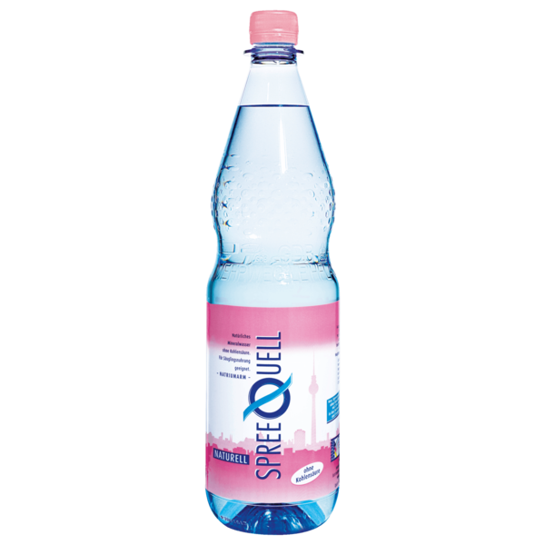 Spreequell Mineralwasser Naturell 1l