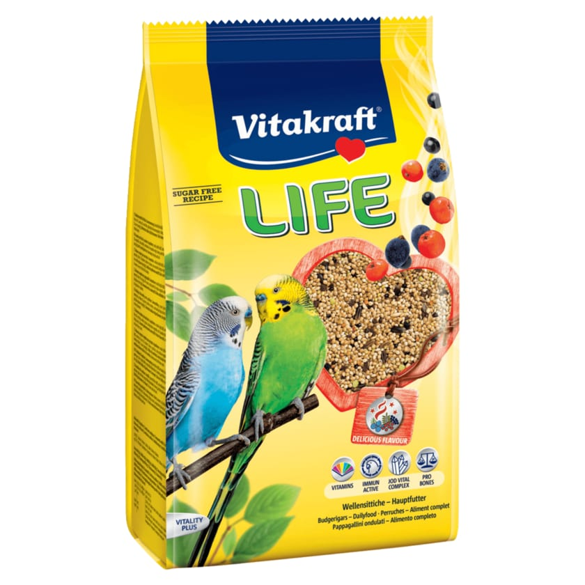 Vitakraft Life Power of Nature Sittich 800g