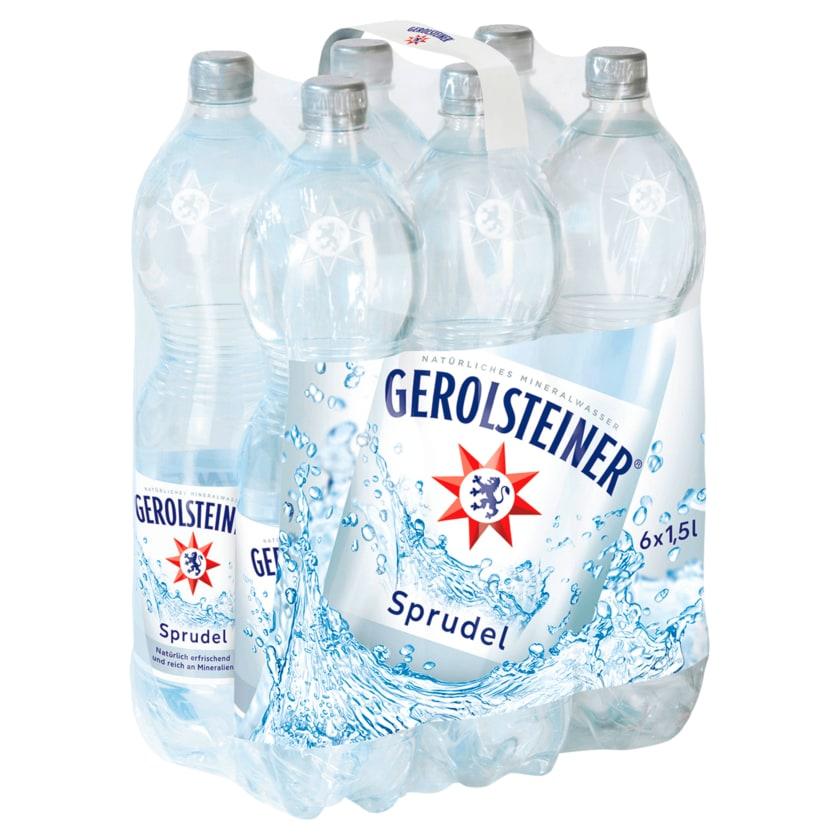 Gerolsteiner Sprudel 6x1,5l