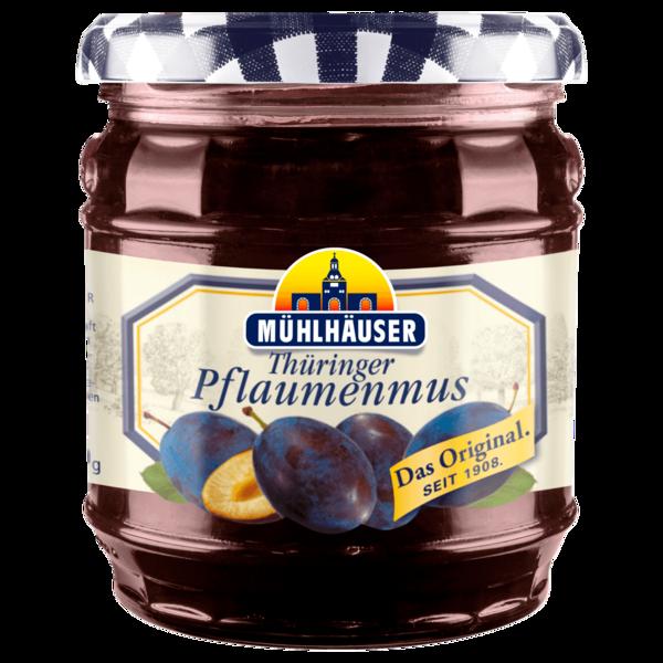 Mühlhäuser Thüringer Pflaumenmus pastös 450g