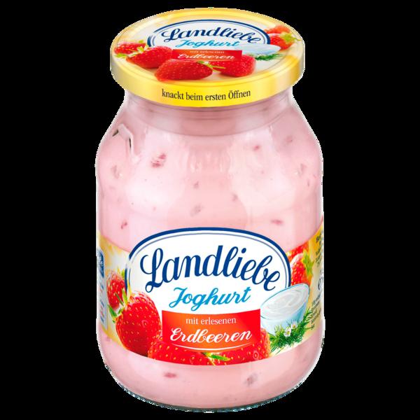 Landliebe Joghurt mit Erdbeeren 500g