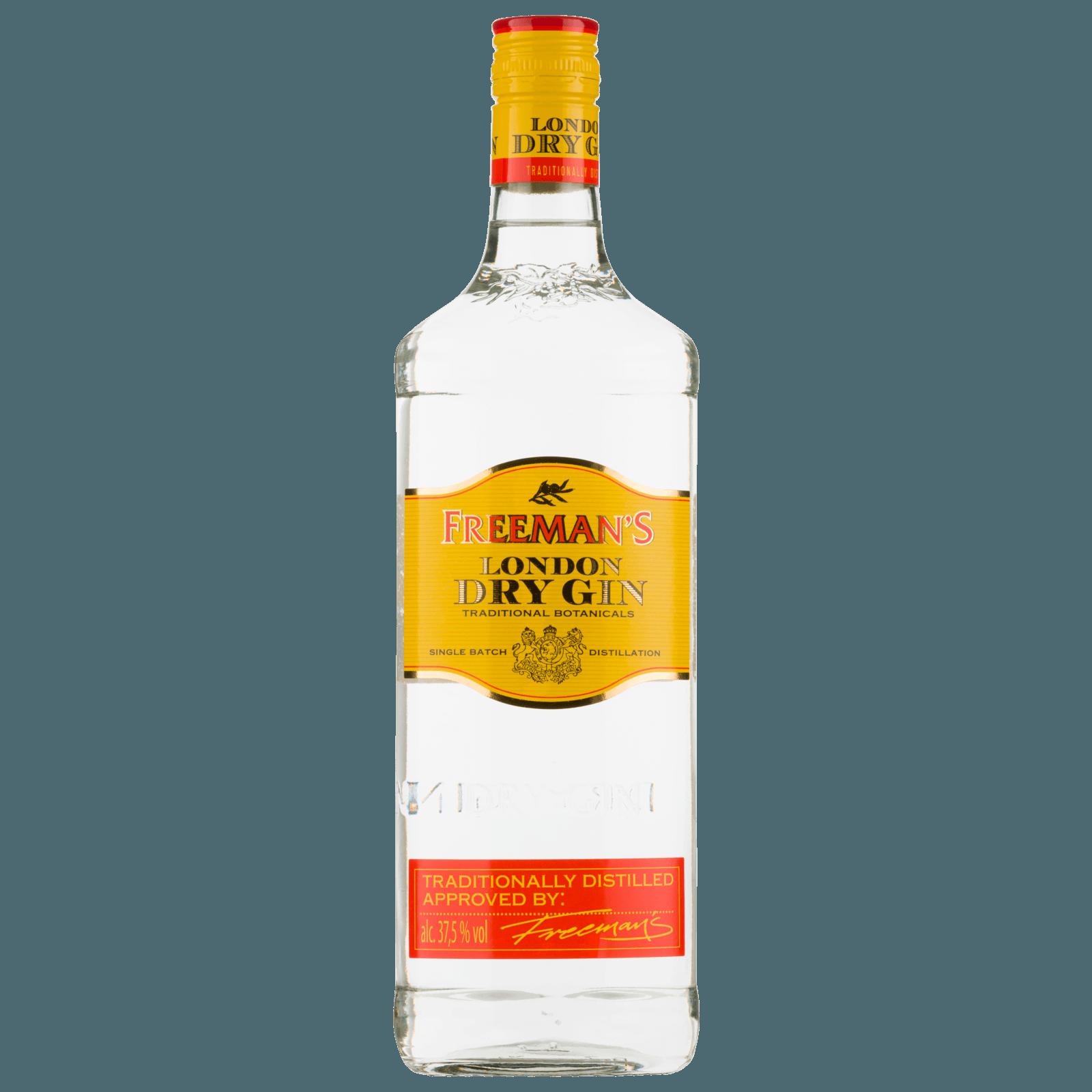 Freeman\'s London Dry Gin 0,7l bei REWE online bestellen!