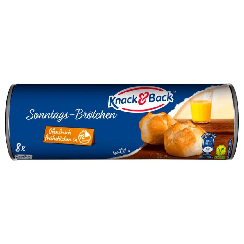 Knack & Back Sonntagsbrötchen 400g