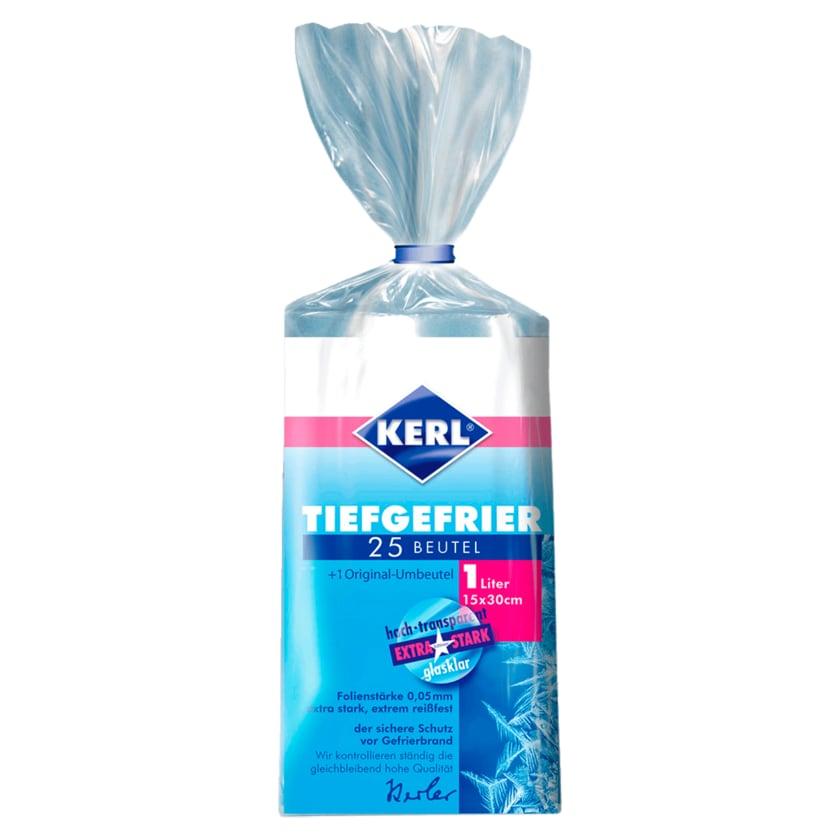 Kerl Gefrier-Beutel 15x30cm 1l, 25 Stück