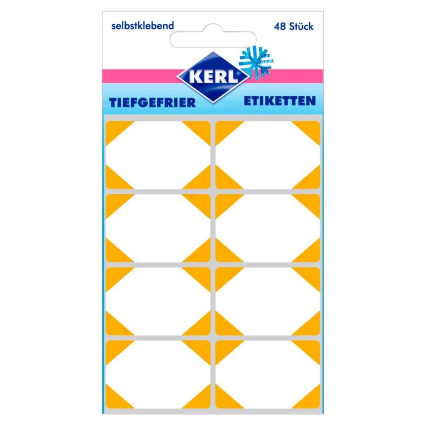 Kerl Tiefkühl-Etiketten Aubergine 48 Stück