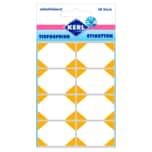 Kerl Tiefkühl-Etiketten Gelb 48 Stück