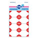 Kerl Tiefgefrier-Etikett rot 48 Stück