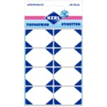 Kerl Tiefgefrier-Etikett blau 48 Stück