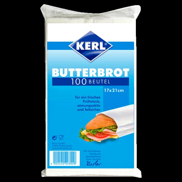 Kerl Butterbrot-Beutel 17x21cm 100 Stück