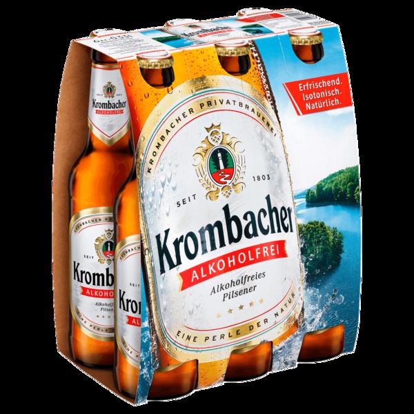 Krombacher Pils alkoholfrei 6x0,33l