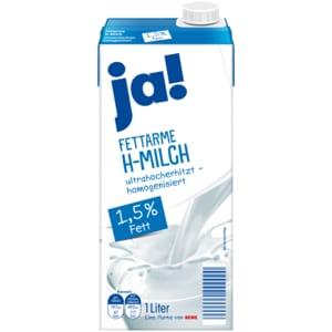 ja! Fettarme H-Milch 1,5% 1l