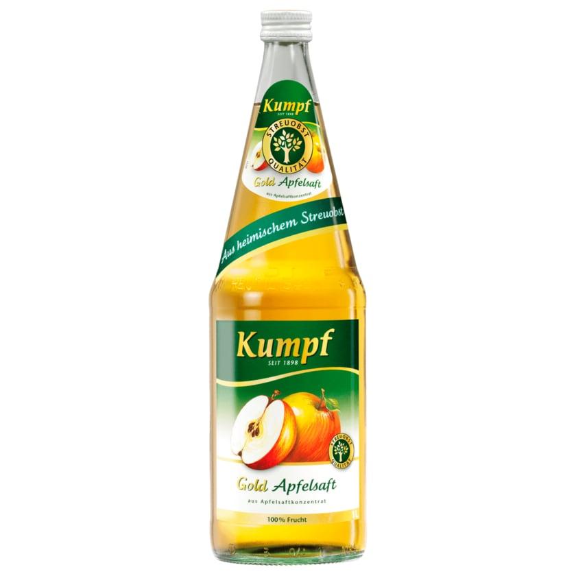 Kumpf Gold Apfelsaft 1l