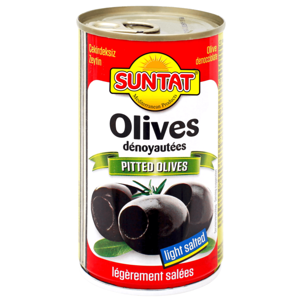 Suntat Schwarze Oliven entkernt 150g
