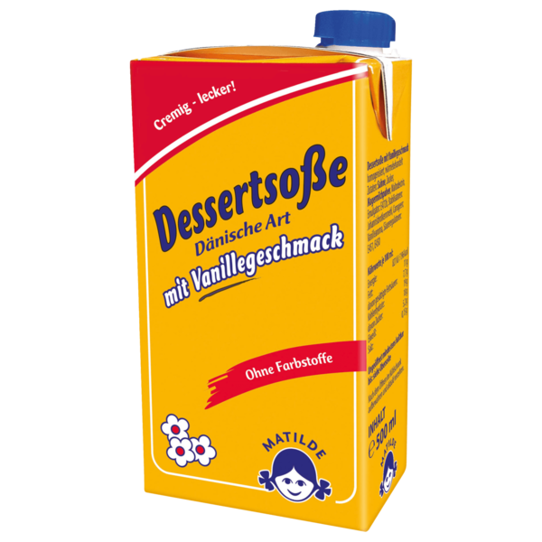Dänische Vanillesoße