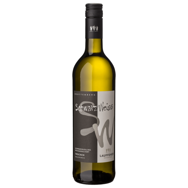 Lauffener Weingärtner Weißwein Schwarzriesling weißgekeltert trocken 0,75l