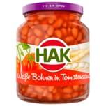 Hak weiße Bohnen in Tomatensauce 370ml
