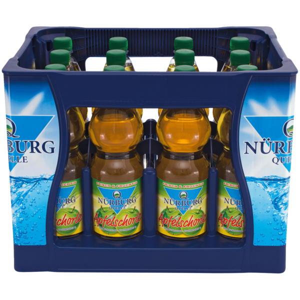 Nürburg Quelle Apfelschorle 12x1l