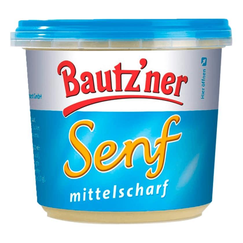 Bautz'ner Senf mittelscharf 200ml