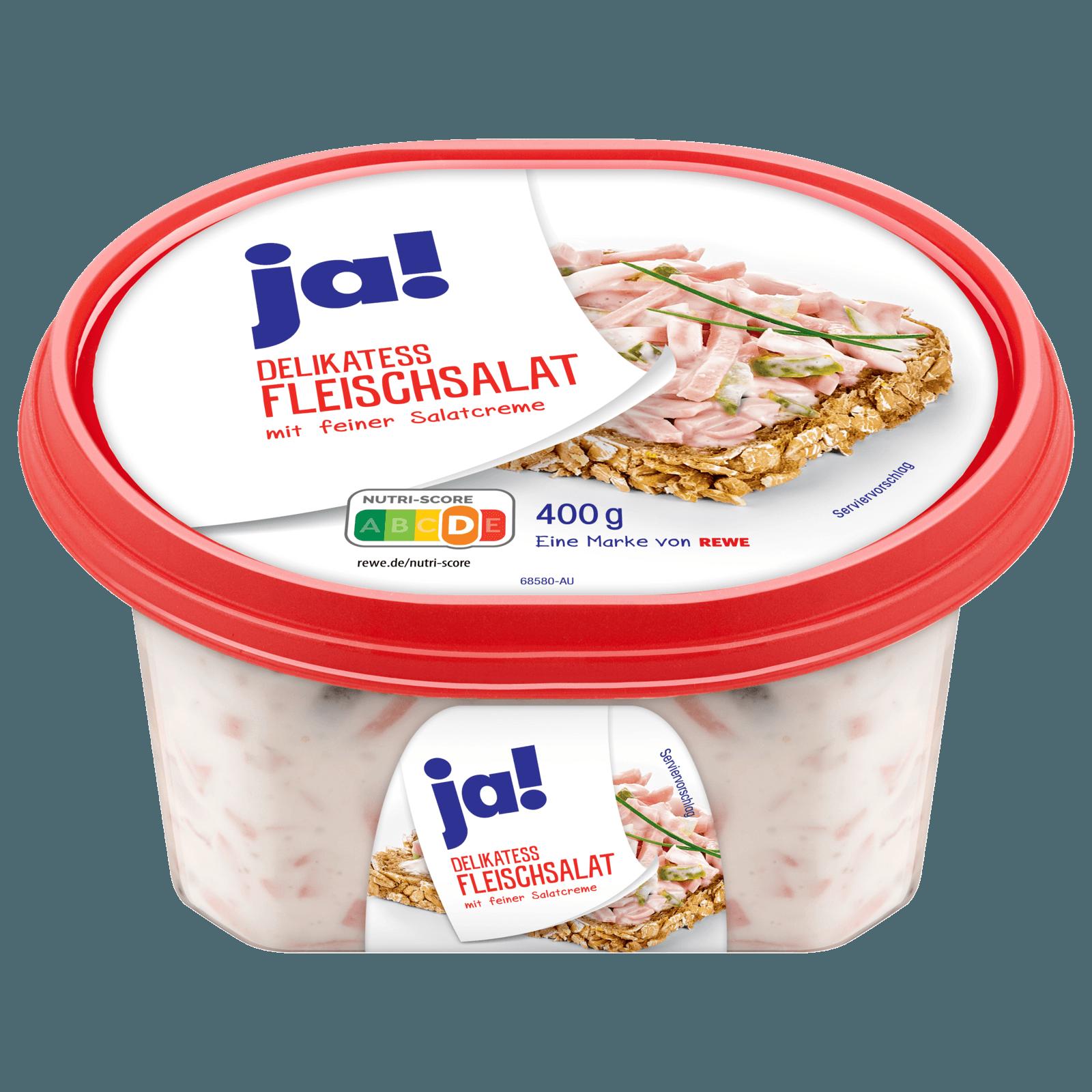 ja! Delikatess-Fleischsalat 400g